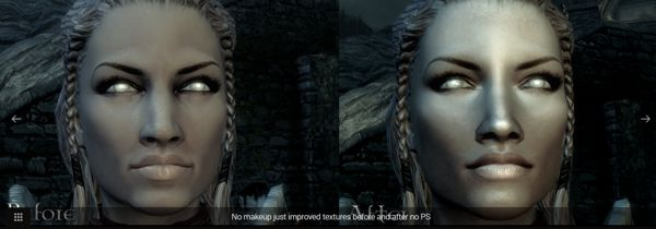 Better Females Skyrim mod