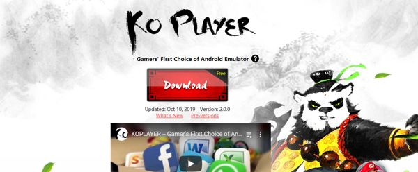 Ko Player Android Emulator