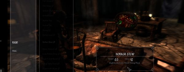 Realistic Needs and Diseases Skyrim mod