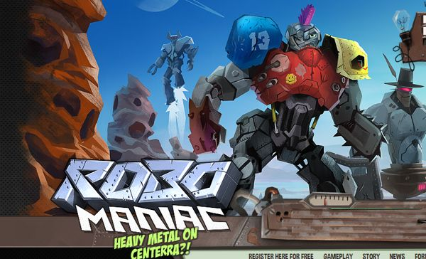 Robo Maniac browser game