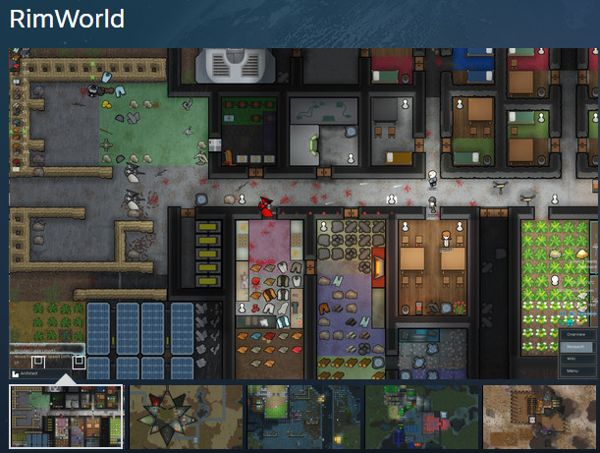 RimWorld Farming game