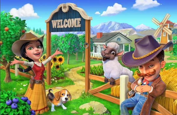 Wild West Farming Game