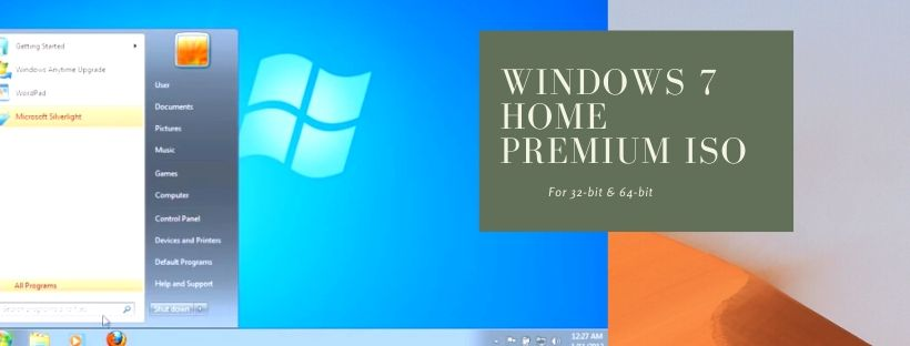 Download Windows 7 Home Premium Free